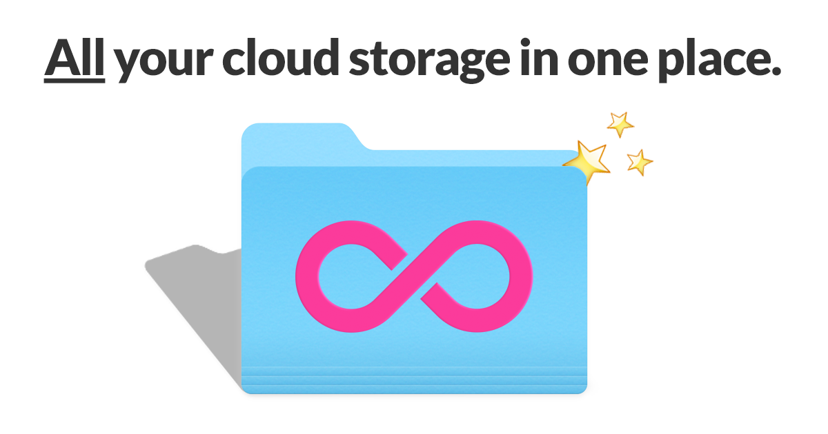 All cloud storage in one place
