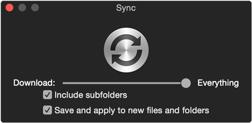 Sync everything and keep it synced