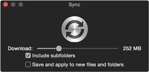 Decide if you want to save the setting to the folder and apply it for new files which get added to the folder.